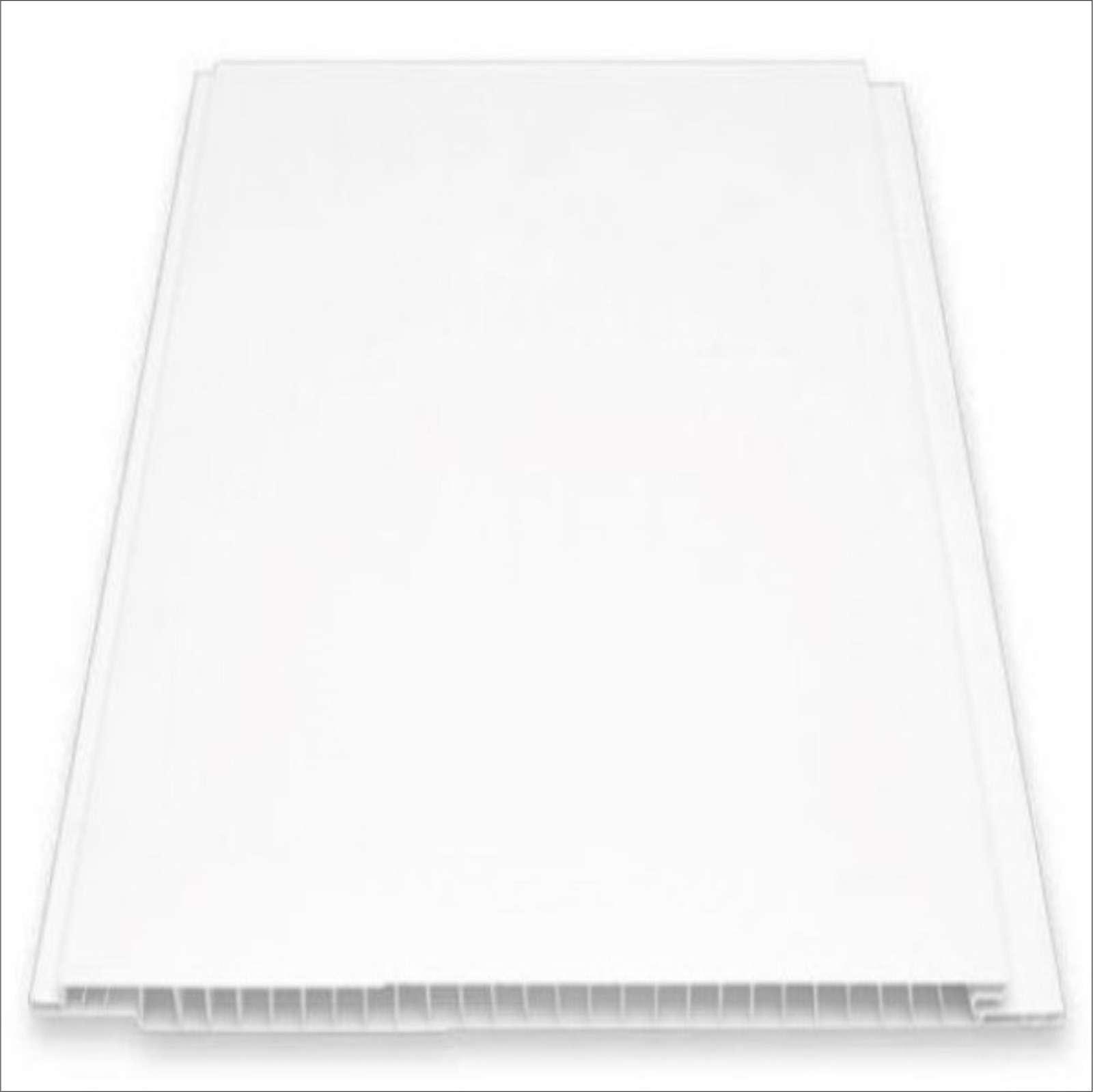 Beyaz Plastik Pvc Duvar Tavan Lambiri / Metrekare Fiyatıdır