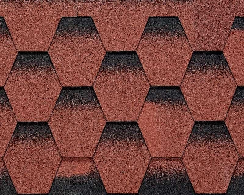 Btm Galaksi Modern Shingle Kırmızı