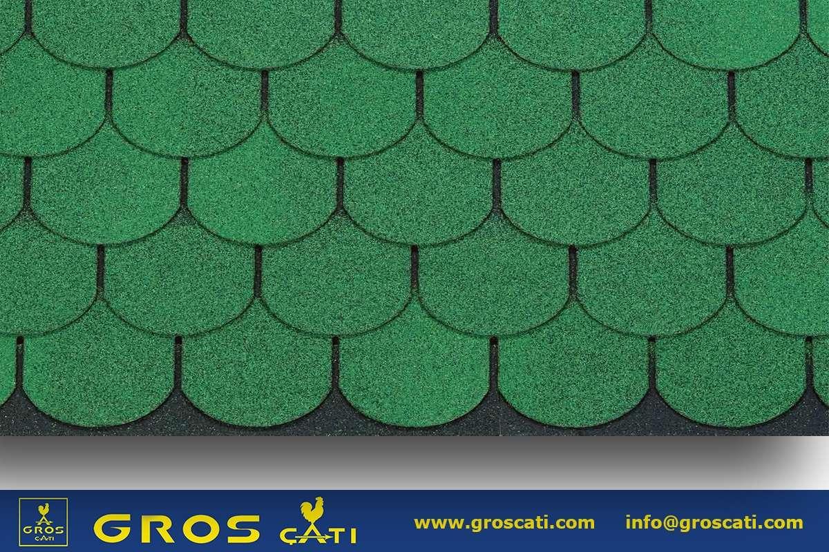 4x4 Shingle Yuvarlak Kırmızı / Yeşil