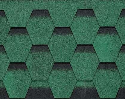 Btm Galaksi Modern Shingle Yeşil